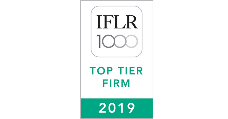 Oraro & Company Advocates Recognised For the Fourth Consecutive Year by IFLR 1000 in the 2019 Rankings