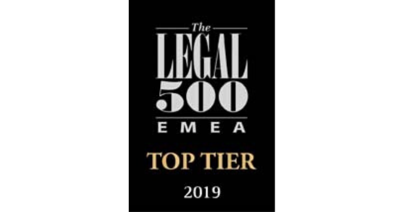 Legal 500 Recognises Oraro & Company Advocates as a Leading Firm in the 2019 Rankings