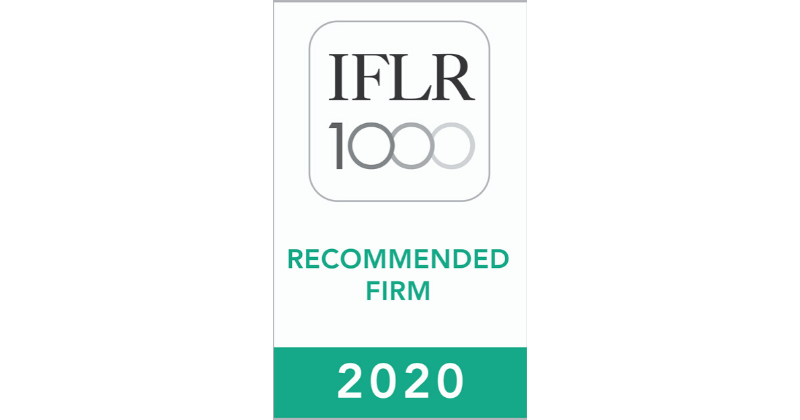 Oraro & Company Advocates Shines Again in the 2020 IFLR 1000 Rankings
