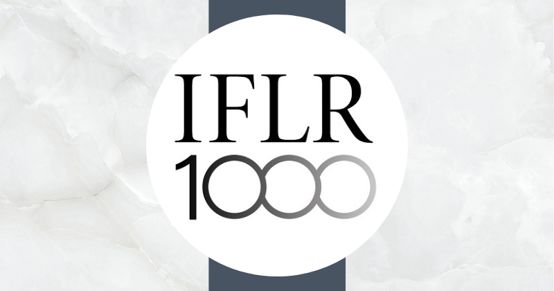 Oraro & Company Advocates Receives Top Rankings in IFLR1000's 31st Edition